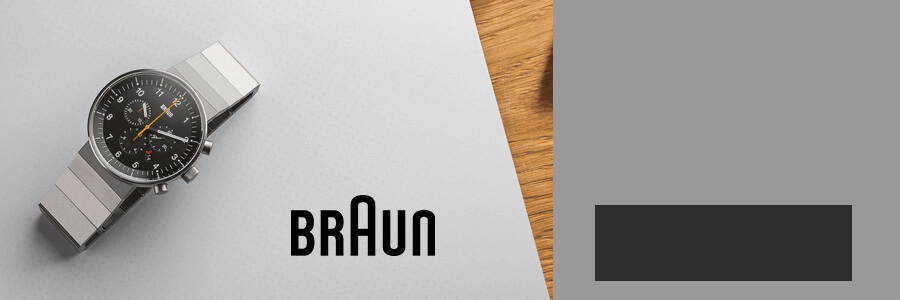 Braun outlet banner