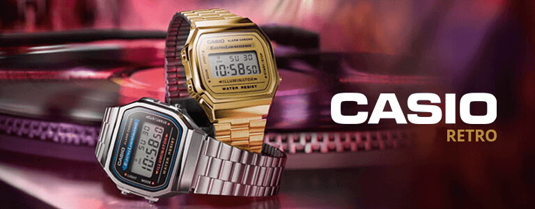 Casio Retro horloges