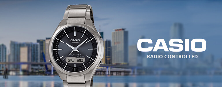 Casio Radio Controlled horloges