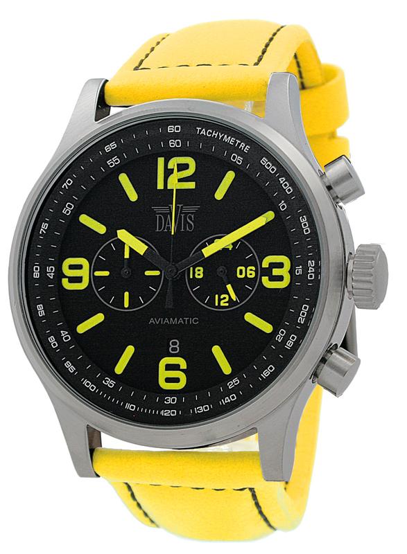 Davis davis1275 Gents horloge  Aviamatic XXL