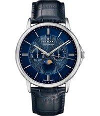 outlet te koop officiële winkel grote korting Les Bémonts 42mm Zwitsers horloge met maanfase