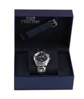 F16635/3 Gift Set 40mm Chronograaf met extra rubber band