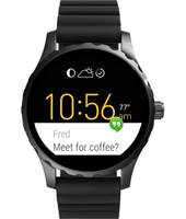FTW2107 Q Marshal 45mm Touchscreen smartwatch met siliconen band