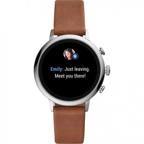 Touchscreen smartwatch met siliconen band - Gen4 Herfst / Winter Collectie Fossil