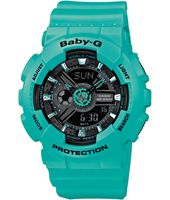 BA-111-3AER Baby-G 43.40mm Turquoise Dames G-Shock