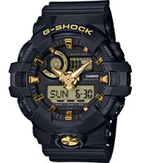 GA-710B-1A9ER Black and Gold 53.4mm