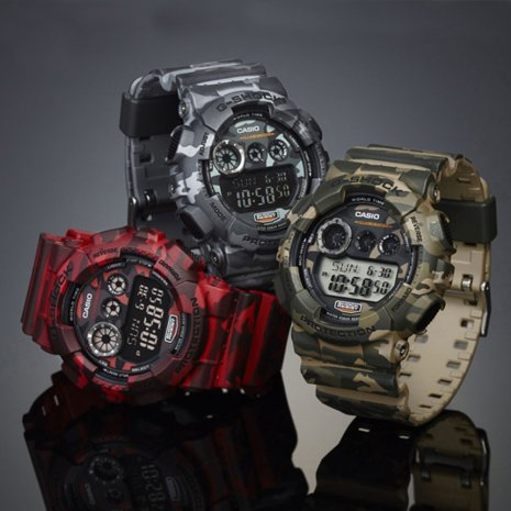 Legergroene Digitale G-Shock Lente / Zomer collectie G-Shock