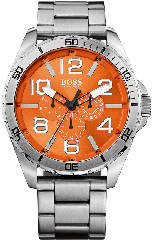 hugo boss orange watch ho1512944 big time. Black Bedroom Furniture Sets. Home Design Ideas