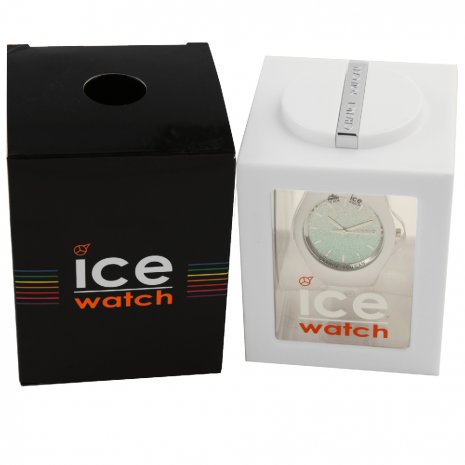Wit dameshorloge met kristallen - Maat Small Lente / Zomer collectie Ice-Watch