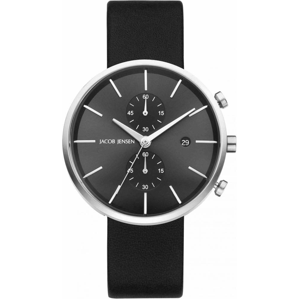 jacob jensen jj620 620 linear horloge ean 8718569106201. Black Bedroom Furniture Sets. Home Design Ideas