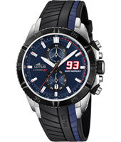 18103/6 Marc Marquez 93 44mm Black & Blue Motorsports Chronograph
