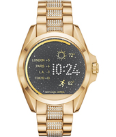 MKT5002 Bradshaw Access 44.50mm Touchscreen gold with steel bracelet