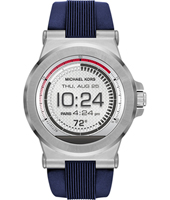 MKT5008 Dylan Access 48mm Touchscreen silver with blue silicone strap