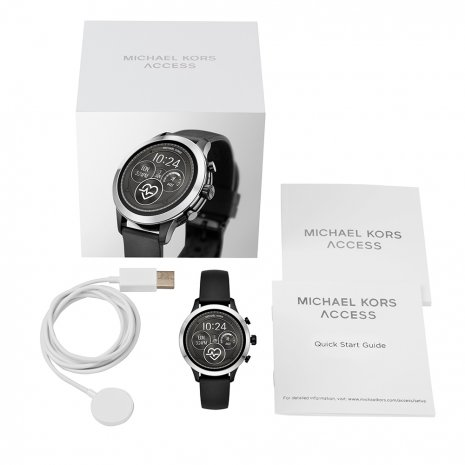 Touchscreen smartwatch met siliconen band - Gen4 Herfst / Winter Collectie Michael Kors