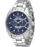 R3273794003 330 Racing 45mm Stalen quartz herenhorloge