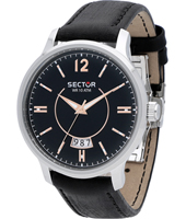 R3251593003 640 Racing 42mm Black Steel Gents Watch with Date