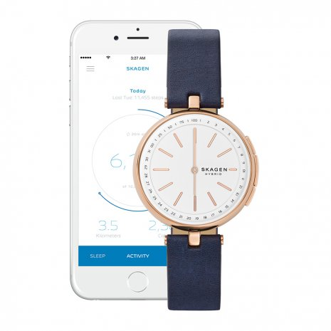 horloge Roségoud Smart Analog