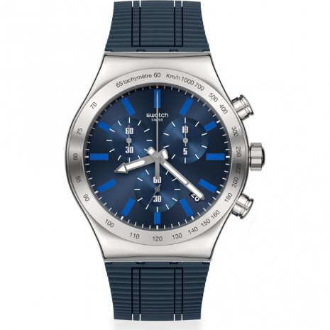 Swatch Electric Blue horloge