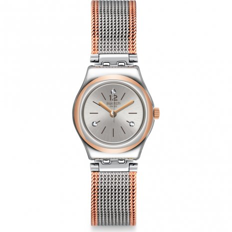 Swatch Full Silver Jacket horloge