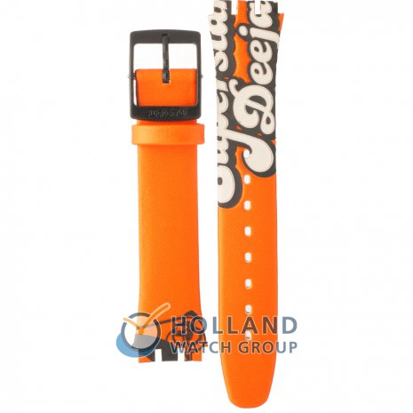 Swatch GB234 Urban Scene band