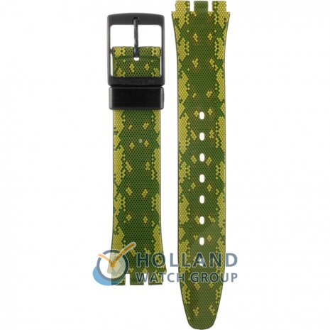 Swatch GB253 Snaky Green band