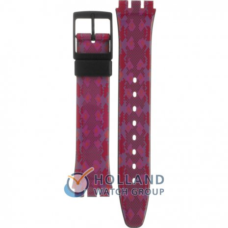 Swatch GB255 Snaky Pink band