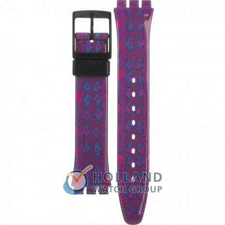 Swatch GB256 Snaky Purple band