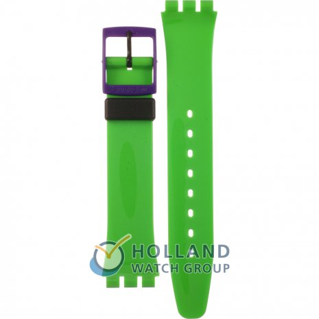 Swatch GB267 Green 'N Violet band