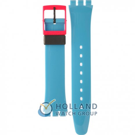 Swatch GB269 Cobalt 'N Pink band