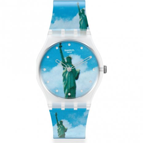 Swatch New York by Tanadori Yokoo horloge