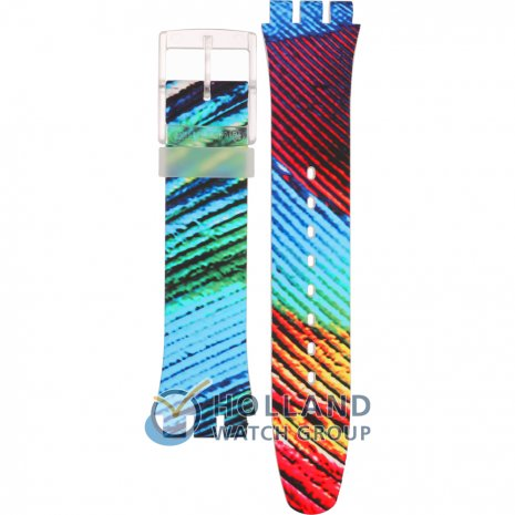 Swatch SUOK113 Peacobello band