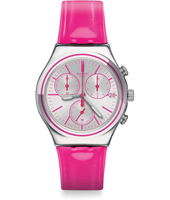 YCS587 Proud To Be Pink 40mm Roze stalen Irony chronograph