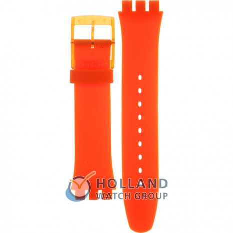 Swatch SUOO700 Orange Rebel band