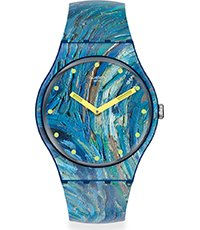 SUOZ335 The starry night by Vincent van Gogh 41mm