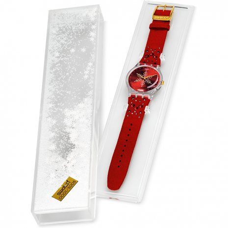 Swatch Shinebright Xmas Season Special Limited Edition horloge