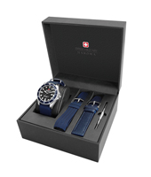 06-8279.04.007.03SET Sea Lion 44mm Swiss Quartz Diver Gift Set