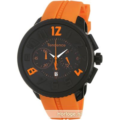 tendence te02046023 horloge gulliver orange. Black Bedroom Furniture Sets. Home Design Ideas